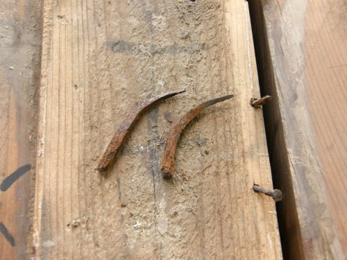 400年前の釘