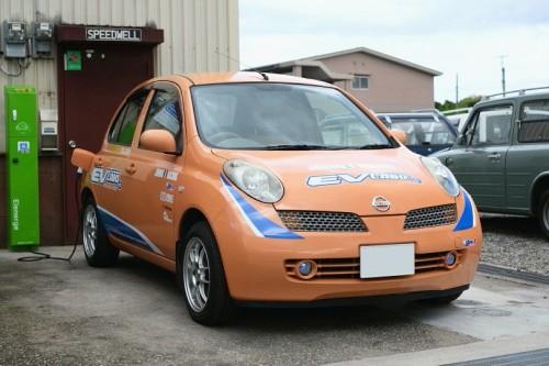 日本初オートマチック電気自動車