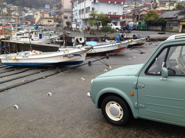 真鶴漁港にPAO