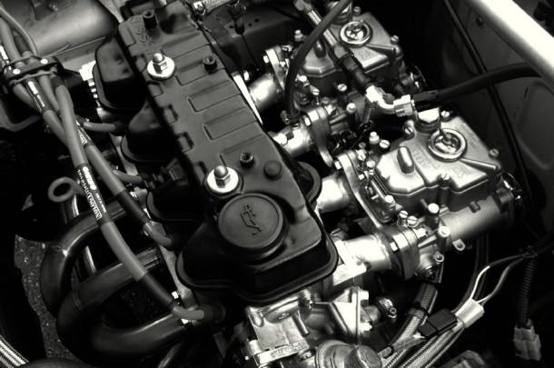 MA11SW型レーシングエンジン