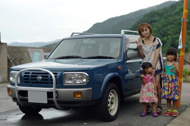 ラシーンとご家族の記念撮影
