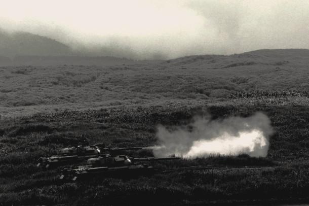 2014 富士総合火力演習 74式