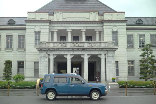 山口県庁にラシーン