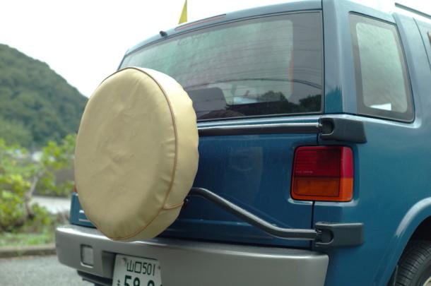 weLLms INTERIOR 製 タイヤカバー