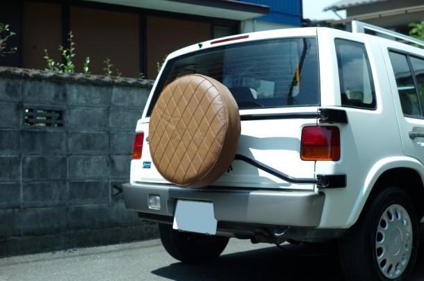 謹製ウェル帆布 タイヤカバー