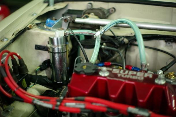 現在のブローバイ排気装置