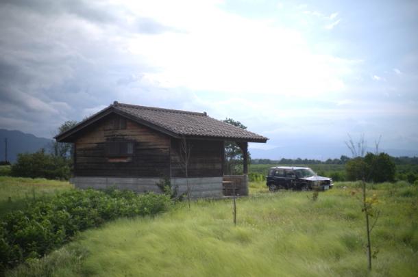 ラシーンと小屋