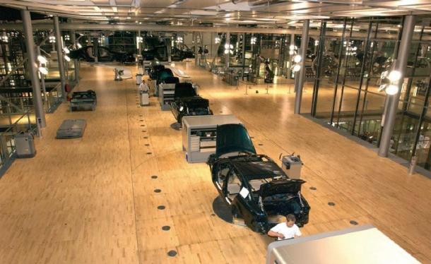 フォルクスワーゲンの工場