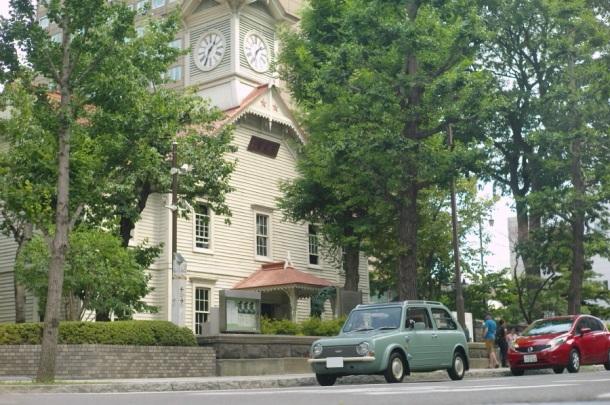 札幌の時計台とPAO