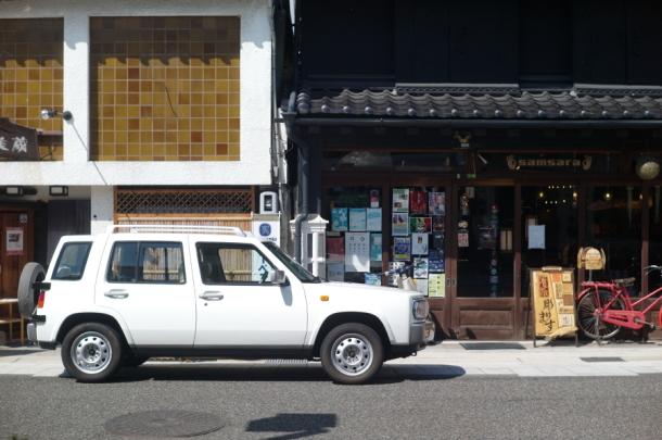 松本の街並み