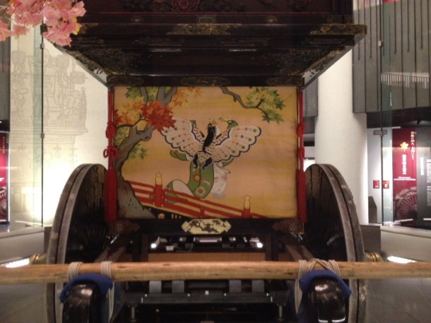 山車の幔幕