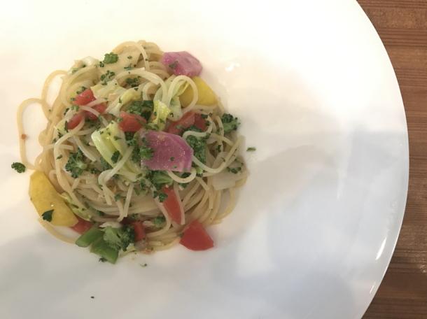 季節の野菜 パスタ