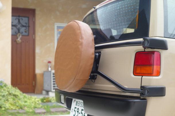 タイヤカバー 張替え