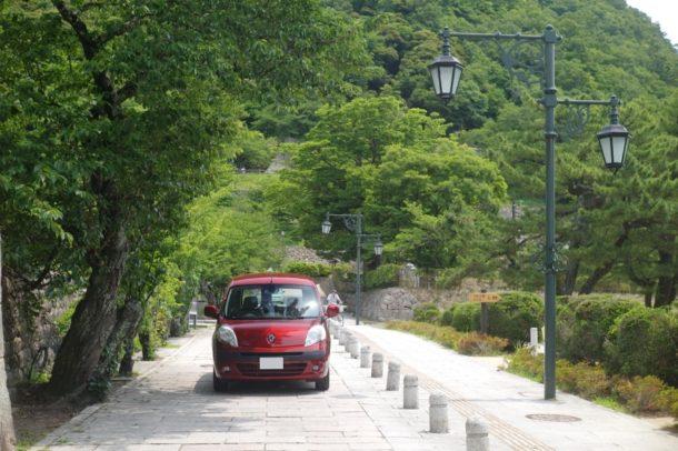 カングー 鳥取博物館前