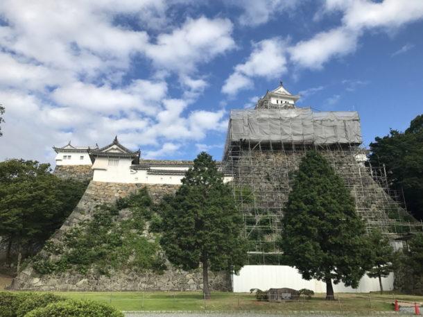 姫路城 東側より