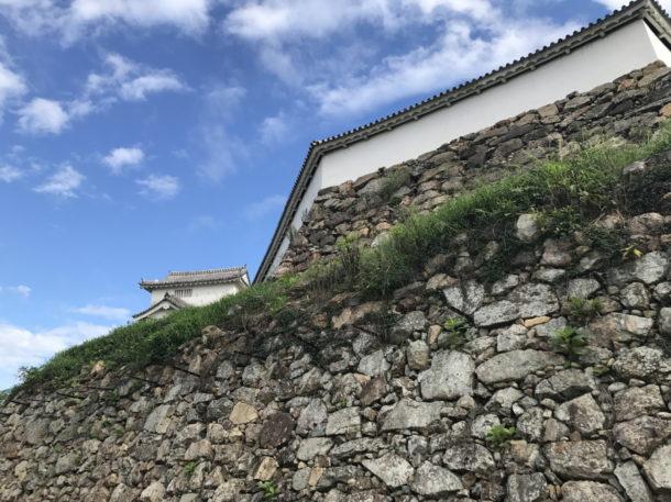 黒田官兵衛が築いた石垣