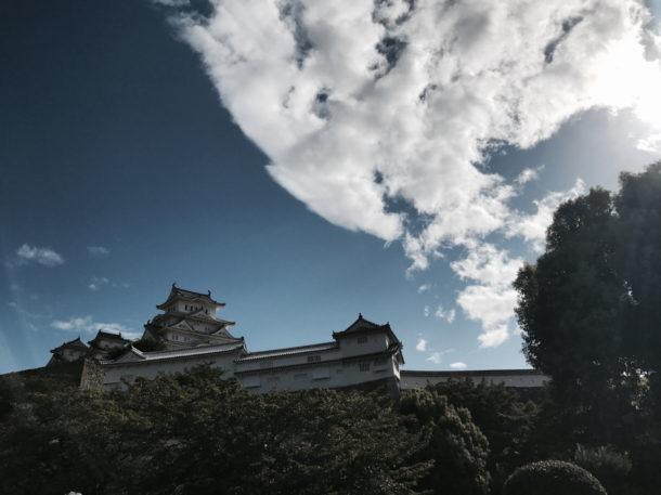 ラシーンと姫路城