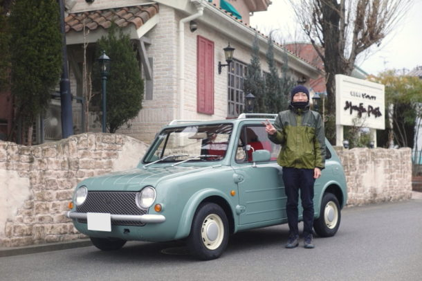 パオ納車 記念撮影