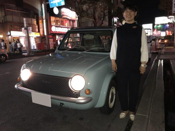 パオちゃんと記念撮影