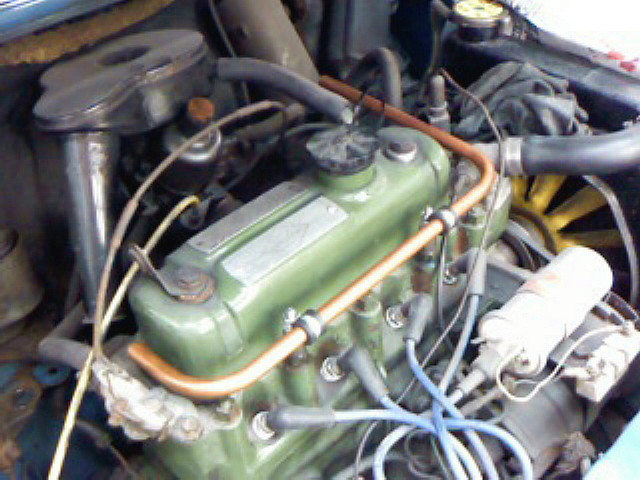 A型エンジンだ。