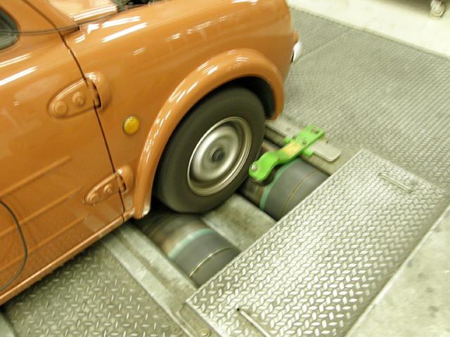 タイヤが馬力を伝達する
