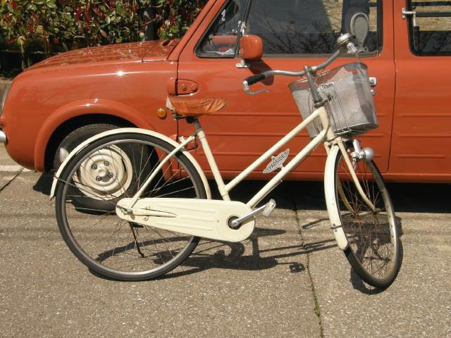 PAOSIDE自転車だ